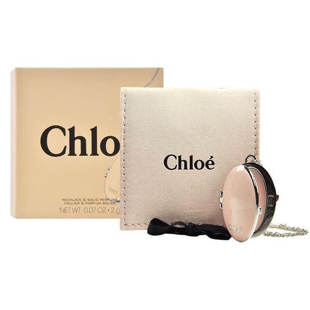 圖片 CHLOE--鵝蛋形香水膏頸鍊