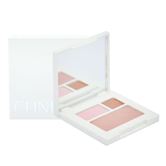 圖片 CLINIQUE--All About 迷你雙色眼影#14 + #15 色胭脂白鏡盒組合