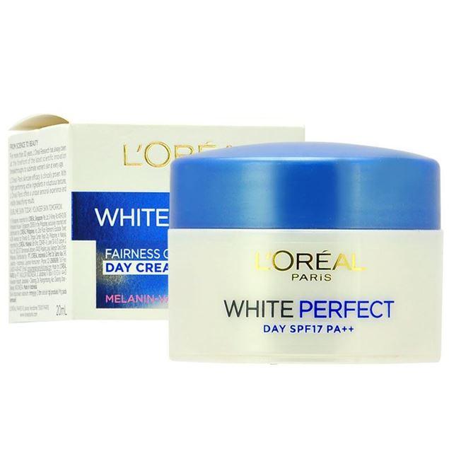 圖片 LOREAL--完美淨白粉嫩透白修護日霜 SPF17/ PA++