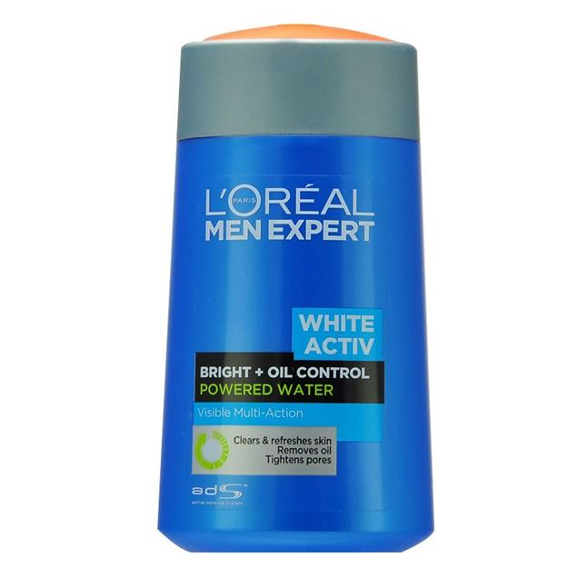 圖片 LOREAL--Men Expert White Activ 男士美白活力控油爽膚水