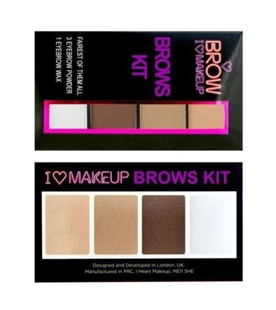 圖片 英國Make up Revolution 眉妝盒
