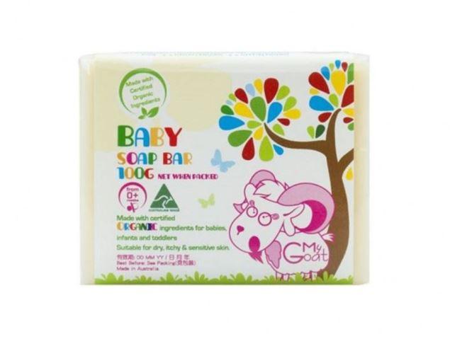 圖片 澳洲O! MY GOAT天然有機嬰幼兒羊奶香皂-原味